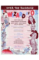 The Wizard of Oz Over the Rainbow Wall Poster