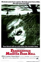 Frankenstein and the Monster from Hell Wall Poster