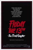 Friday the 13Th Part 4 --The Final Chapter Film Wall Poster