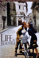 Life is Beautiful Cannes Film Festival Wall Poster