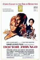 Doctor Zhivago - A love caught in the fire of revolution Wall Poster