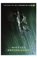 The Matrix Revolutions Morpheus & Trinity Wall Poster