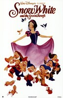 Snow White with the 7 Dwarfs Wall Poster