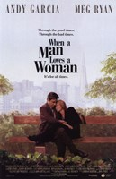 When a Man Loves a Woman - on a bench Wall Poster