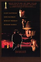 Unforgiven - faces Wall Poster