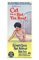 Cat on a Hot Tin Roof Newman, Ives & Taylor Wall Poster