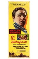 on the Waterfront Yellow Tall Wall Poster