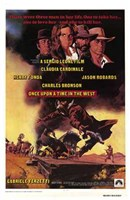 Once Upon a Time in the West Charles Bronson Wall Poster