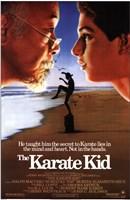 The Karate Kid Beach Wall Poster