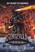 Godzilla 2000 Wall Poster