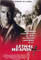 Lethal Weapon 4 Wall Poster