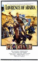 Lawrence of Arabia Cast Wall Poster