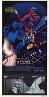 Tron with Movie Scene Wall Poster