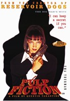 Pulp Fiction The Big Man's Wife Wall Poster