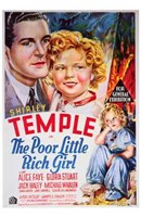 Poor Little Rich Girl Wall Poster