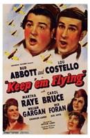 Abbott and Costello, Keep 'Em Flying, c.1941 Fine-Art Print