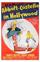 Abbott and Costello in Hollywood, c.1945 Fine-Art Print