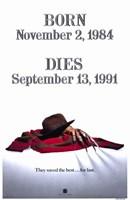 Freddy's Dead Final Nightmare Wall Poster