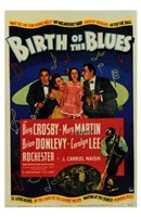 Birth of the Blues Wall Poster
