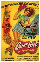 Cover Girl Wall Poster