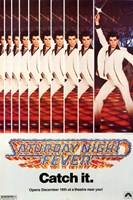 Saturday Night Fever (The Bee Gees) - catch it Wall Poster