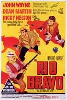 Rio Bravo - yellow Wall Poster