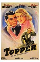 Topper - couple hugging Wall Poster