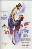 It's a Wonderful Life Frank Capra - square Fine-Art Print