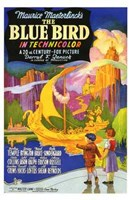 The Blue Bird Wall Poster