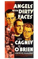 Angels with Dirty Faces Cagney & O'Brien Wall Poster