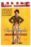 Modern Times Charlie Chaplin Wall Poster