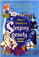 Sleeping Beauty Wondrous to See Glorious to Hear Wall Poster