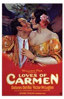 The Loves of Carmen Wall Poster