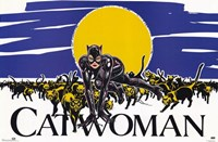 Batman Returns Catwoman Comic Wall Poster