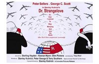Dr Strangelove  or: How I Learned to Sto - wide Wall Poster