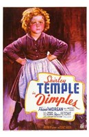 Dimples Shirley Temple Wall Poster