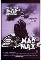 Mad Max Purple Wall Poster