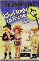 Glad Rags to Riches Wall Poster