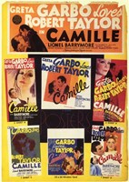 Camille Collage Wall Poster