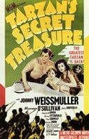 Tarzan's Secret Treasure, c.1941 - style A Wall Poster