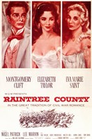 Raintree Country Wall Poster