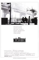 Manhattan - couple on a bench Wall Poster