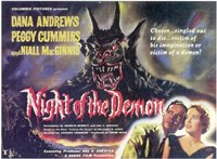 Night of the Demon Wall Poster
