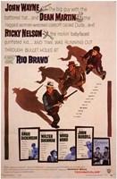 Rio Bravo - characters Wall Poster