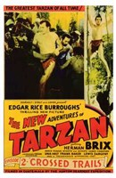 The New Adventures of Tarzan, c.1935 - style C Wall Poster
