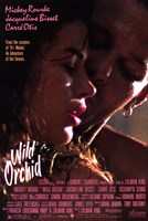 Wild Orchid Wall Poster