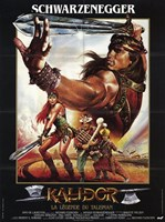 Red Sonja, c.1985 - style A (French) Wall Poster