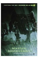 The Matrix Revolutions Robots Wall Poster