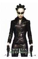 The Matrix Reloaded Niobe Wall Poster