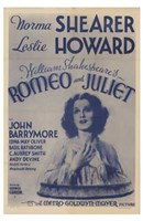 Romeo and Juliet Original Metro-Goldwyn Mayer Wall Poster